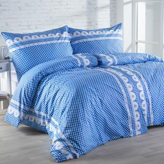 Bavlnená posteľná súprava Matylda modrá