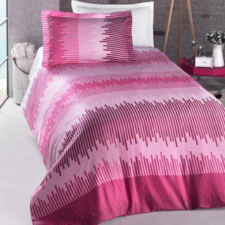 Bavlnené posteľné obliečky ENERGY ružové