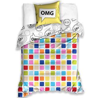 Bavlnené posteľné obliečky OMG, Oh my God