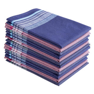 Pánske bavlnené vreckovky 12 kusov