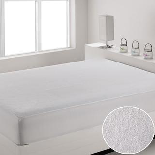 Vodeodolný mikroplyšový matracový chránič Magenta