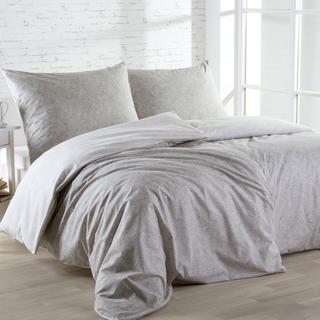 Bavlnené posteľné obliečky ORNAMENT béžovo-smotanové