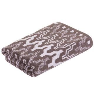 Froté uterák MARRAKECH Chevron hnedý 50 x 100 cm