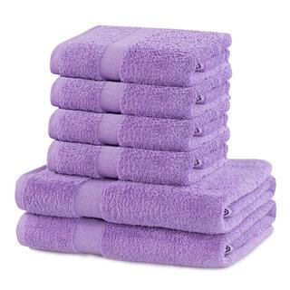 Sada froté uterákov a osušiek MARINA fialová 6 ks