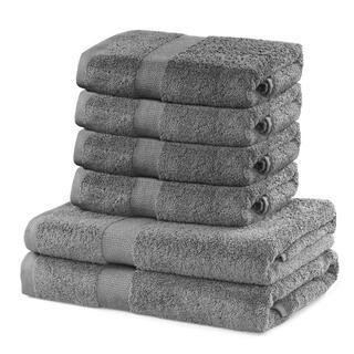 Sada froté uterákov a osušiek MARINA šedá 6 ks