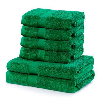 Sada froté uterákov a osušiek MARINA zelená 6 ks