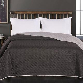 Prikrývka na posteľ Axel, čierna