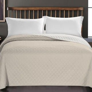 Prikrývka na posteľ Axel, béžová