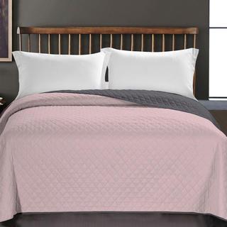 Prikrývka na posteľ Axel, ružová
