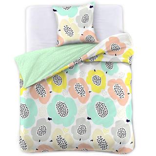 Saténové posteľné obliečky PAPAVERO