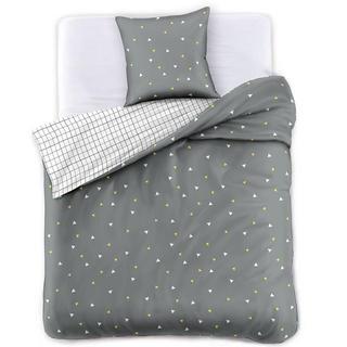 Saténové posteľné obliečky SHADOW