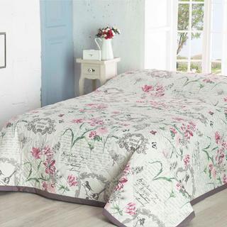 Prikrývka na posteľ Valerie fialová, 160 x 220 cm