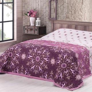 Prikrývka na posteľ Alberica, fuchsiová