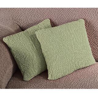 Bielastické poťahy BUKLÉ hrášková obliečky na vankúšiky 2 ks (40 x 40 cm)