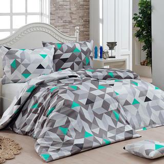 Bavlnené posteľné obliečky Matějovský MOSAIC, predĺžená dĺžka