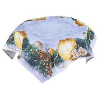 Stredový obrus s vianočnou potlačou 85 x 85 cm