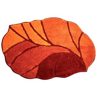 Kúpeľňová predložka AOSTA oranžová, k vani