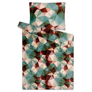 Posteľné obliečky z mikroflanelu DEEP FOREST zelené