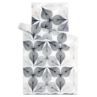 Posteľné obliečky z mikroplyšu SYMBIÓZA Bielo - čierne
