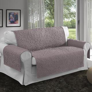 Prikrývky na sedaciu súpravu VOLTE orieškové, dvojkreslo - sedák 120 cm