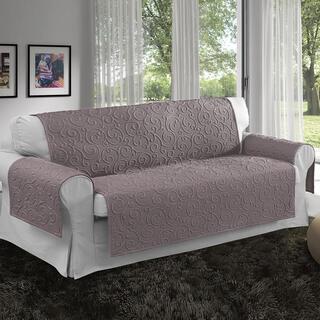 Prikrývky na sedaciu súpravu VOLTE orieškové, trojkreslo - sedák 170 cm