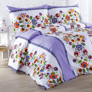 Bavlnené posteľné obliečky VIOLA fialové