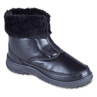 Dámske zimné topánky s kožušinkou