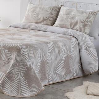 Prikrývka cez posteľ AVA béžová, jednolôžko