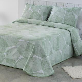 Prikrývka cez posteľ AIDA zelenkavá, jednolôžko