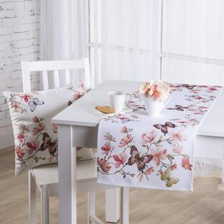 Behúň na stôl MAGNÓLIA a MOTÝLE 40 x 110 cm
