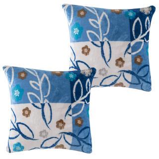 Sada obliečok na vankúšiky SARAH modré, 2 ks 40 x 40 cm