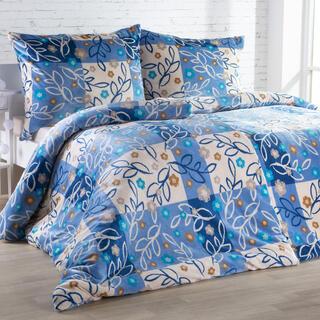 Posteľné obliečky z mikroplyšu SARAH modré