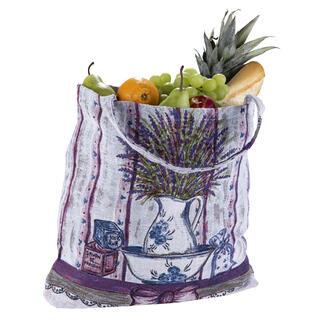 Textilná nákupná taška LEVANDUĽA