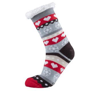 Ponožky na spanie SRDIEČKA