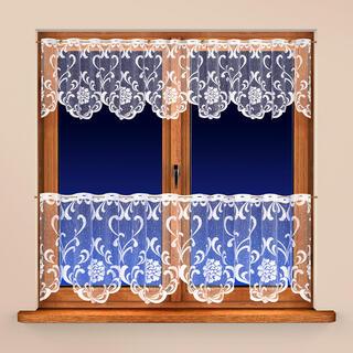 Vitrážková záclona NINA