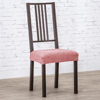 Super strečové poťahy NIAGARA koralová stoličky 2 ks (40 x 40 cm)