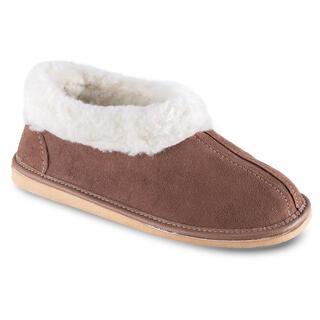 Domáca obuv s barančekom hnedá