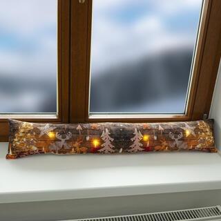 Tesniaci valček do okna s LED