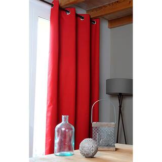 Zatemňovací záves OSLO červený 140 x 260 cm