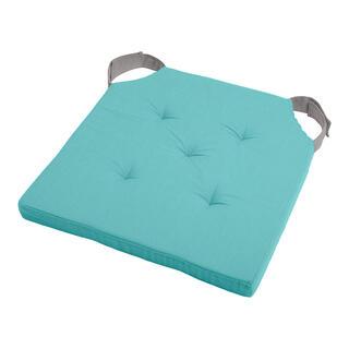 Podsedák na stoličku DUO UNI so suchým zipsom sv. modrý