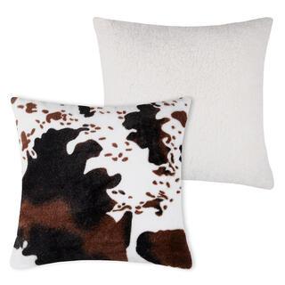Dekoračný vankúšik s barančekom v dekóre kravskej kože 40 x 40 cm