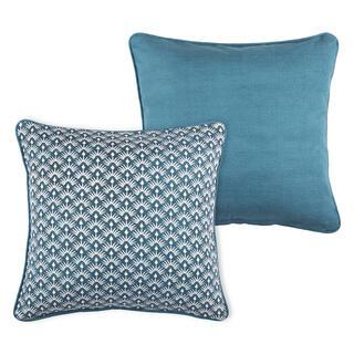 Dekoračný vankúšik PALMA modrá