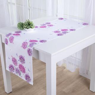 Behúň na stôl KVET CESNAKU potlač 40 x 160 cm