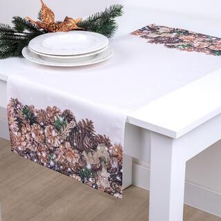 Obrus na stôl ZLATÉ ŠIŠKY 40 x 90 cm