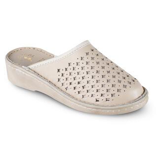 Zdravotné papuče béžové