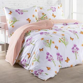 Bavlnené posteľné obliečky TALIA oranžové