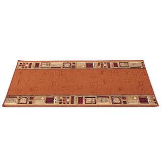 Kusový koberec JENA tehlová