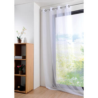 Farebná záclona MONNA biela 135 x 260 cm