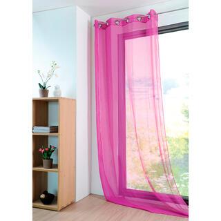 Farebná záclona MONNA fuchsiová 135 x 260 cm