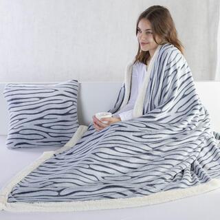 Barančeková deka z mikrovlákna ZEBRA 140 x 200 cm